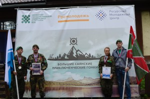 Курсанты ВПК «БАрС» покорили Большие Саянские приключенческие гонки