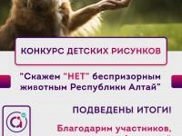 В Республике Алтай завершился конкурс рисунков